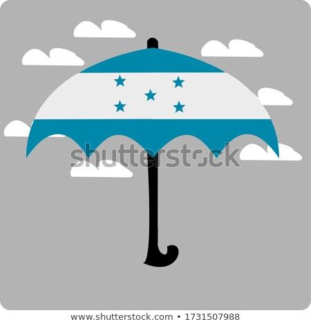 Ombrello bandiera Honduras top nero ombrelli Foto d'archivio © MikhailMishchenko