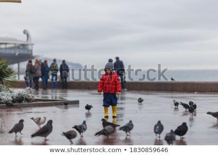 Chłopca patrząc guma żywności zabawy wypoczynku Zdjęcia stock © IS2