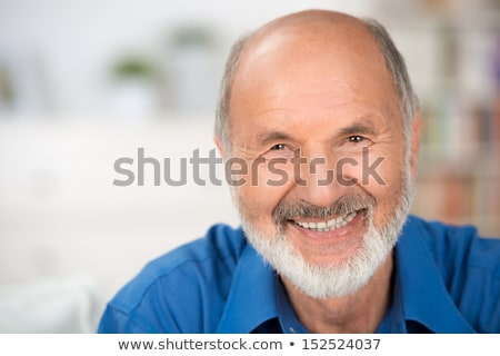 close up of older man smiling stock photo © is2