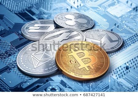 Ethereum cryptocurrency coin Stock photo © stevanovicigor