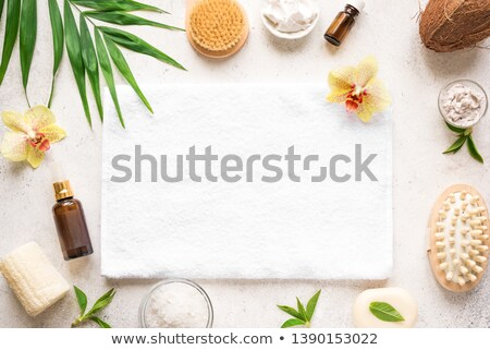 bathroom and spa accessories stock photo © marilyna