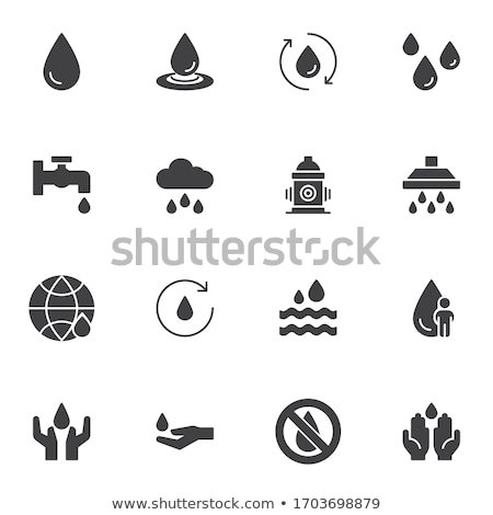 Charity Solid Web Icons Stock photo © Anna_leni