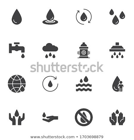 Finance · argent · solide · icônes · web · vecteur - photo stock © anna_leni