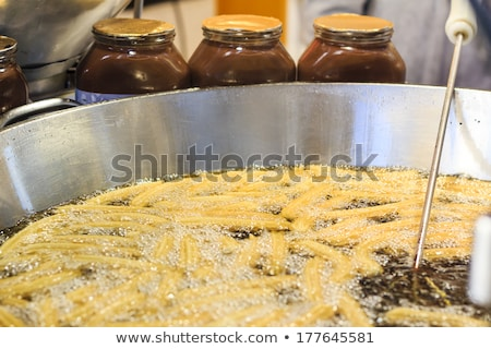 churros fried with oil unhealthy food Stock photo © lunamarina
