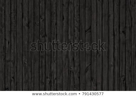 wood texture background black wood wall ore floor stock photo © ivo_13