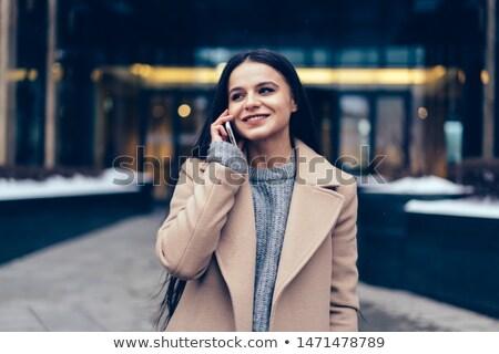 Businesswoman talking on the phone Stock photo © Minervastock