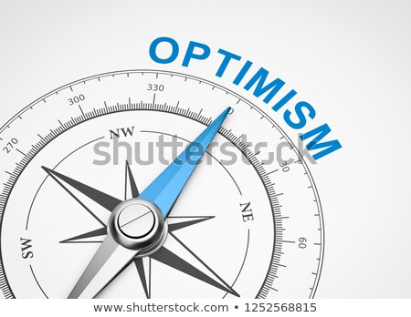 compass on white background confidence concept stock photo © make