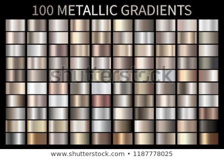 Abstract luce oro metal gradiente Foto d'archivio © ESSL