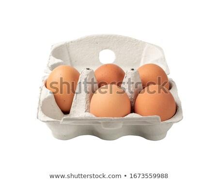 5 卵 カートン 実例 子供 学校 ストックフォト © colematt