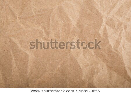 background from sheet of crumpled kraft paper Stock photo © ivo_13