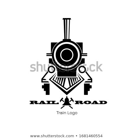 train icon front view stock photo © angelp