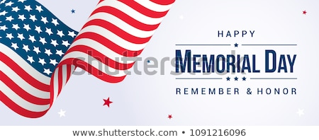 Memorial Day banner Stock photo © sanyal