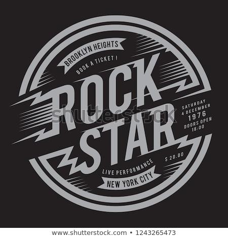 Rock · rouler · guitare · vecteur · art · illustration - photo stock © netkov1