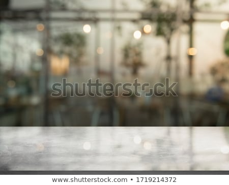 Kitchen Countertop Night Stock photo © albund