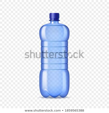Product ontwerpsjabloon veldfles geen grafische illustratie Stockfoto © bluering