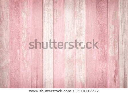 colorful blue pink and green wooden aged plank wall stock photo © marylooo