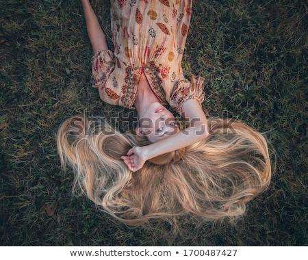 piedi · fuori · sereno · autunno · giorno - foto d'archivio © boggy