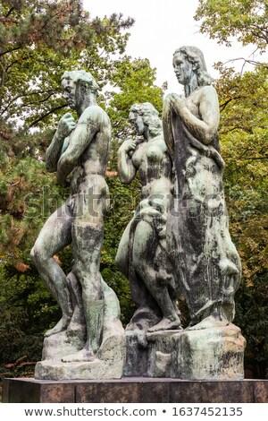 Frankfurt Duitsland reizen sculptuur historisch historisch Stockfoto © manfredxy