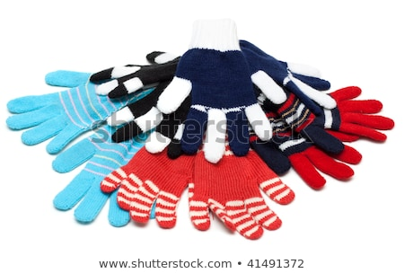 Striped much pairs of the gloves Stock photo © RuslanOmega