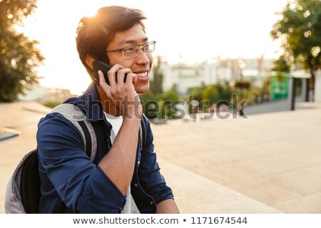 teenager talking on the phone Stock photo © photography33