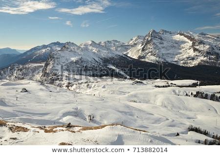 Castellazzo mount, Italian Dolomites Stock photo © Antonio-S