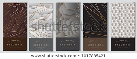 Luxe chocolade jonge brunette vrouw Stockfoto © lithian