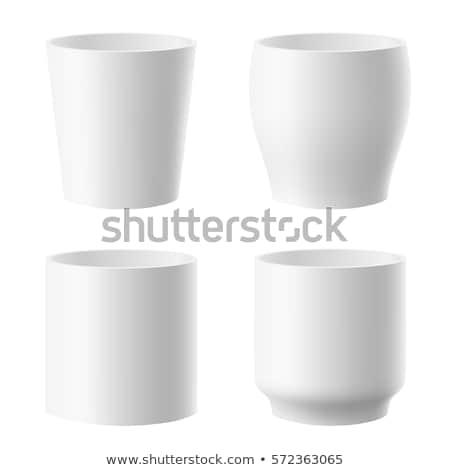White pots stock photo © vaximilian