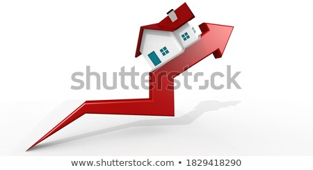 House Prices Going Up Stock photo © mscottparkin