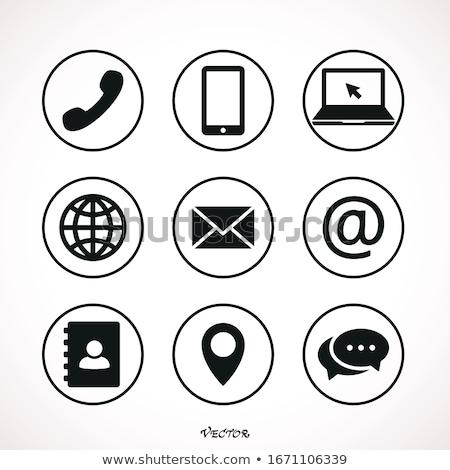 e-mail · geïsoleerd · witte · business · internet - stockfoto © tashatuvango