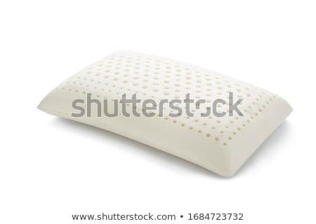 Látex limpar saudável cuidar travesseiro textura Foto stock © JohnKasawa