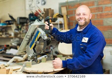Craftsman holding sander Stock photo © photography33