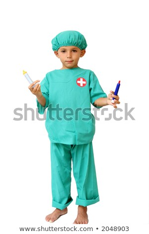 kid disguised as doctor stock photo © photography33