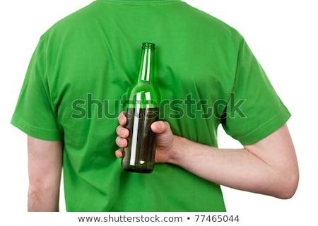 Secret drinker Stock photo © disorderly