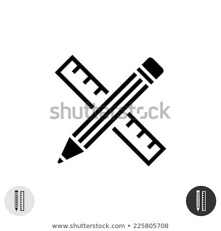 Pencil Cross Icon Stock photo © Lightsource