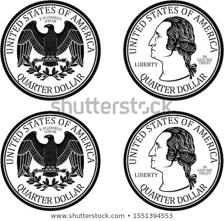 US quarters Stock photo © CaptureLight