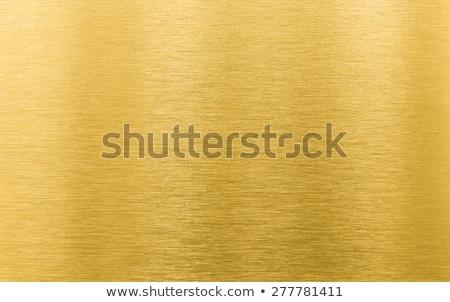 Gold brushed metal Stock photo © haraldmuc
