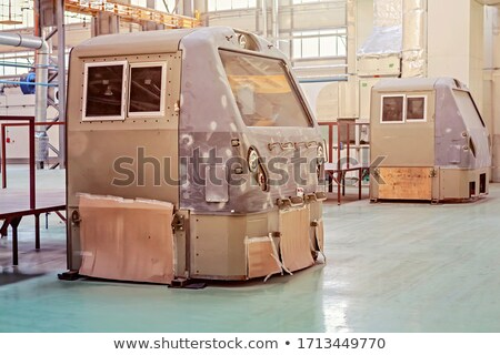 Railway assembly on process Stock photo © ABBPhoto