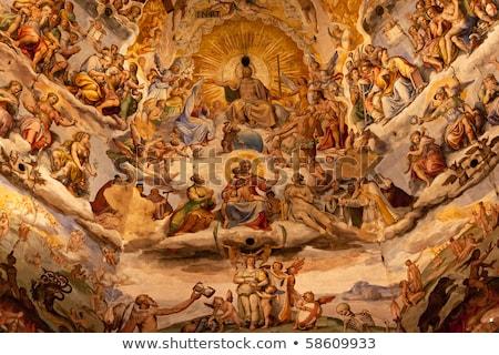 vasari fresco dome duomo cathedral basilica dome florence italy stock photo © billperry
