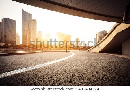 современное здание бизнесмен бизнеса человека счастливым работу Сток-фото © toocan