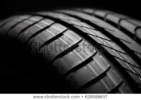 new tire texture Stock photo © tungphoto