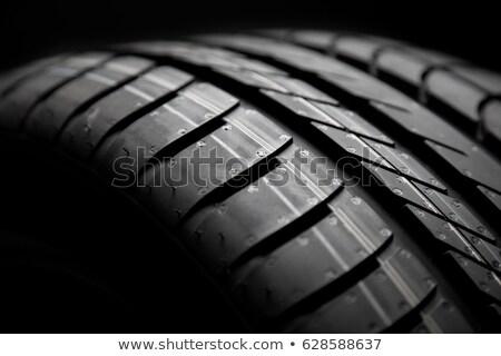 new tire texture Stock photo © tungphoto