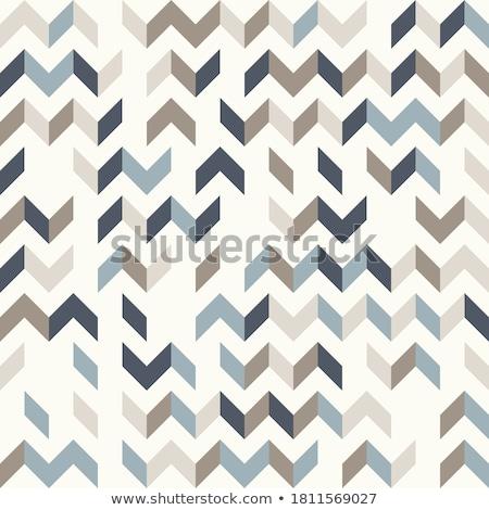 seamless brown chevron pattern Stock photo © creative_stock
