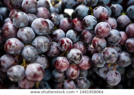 dourado · passas · de · uva · isolado · branco · comida · fruto - foto stock © meinzahn