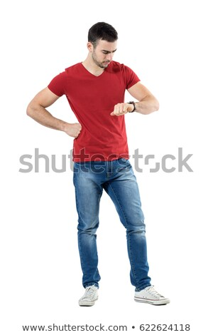 Everyday man angry. Stock photo © Reaktori