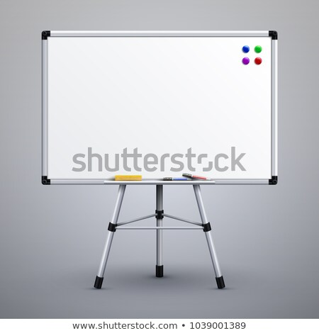 Blank Noticeboard Copyspace Shows Display Space Stock photo © stuartmiles