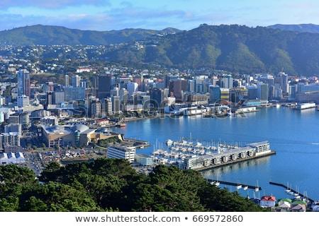 Wellington cidade azul porto Foto stock © rghenry