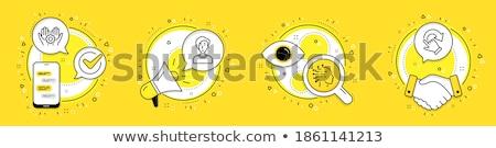 empresária · rotação · isolado - foto stock © dgilder
