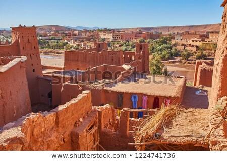 ストックフォト: モロッコ · 市 · キャラバン · ルート · サハラ砂漠 · 現在