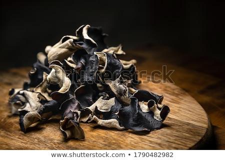 ストックフォト: ツリー · 菌 · 秋 · 森林 · 草 · ドロップ