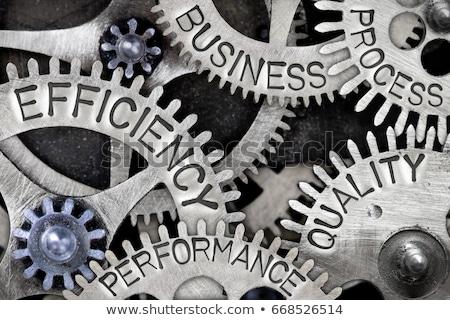ビジネス 計画 金属 歯車 メカニズム ホイール ストックフォト © tashatuvango